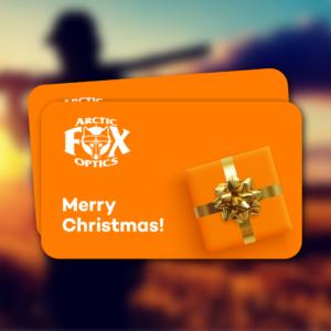 arctic fox optics christmas gift card